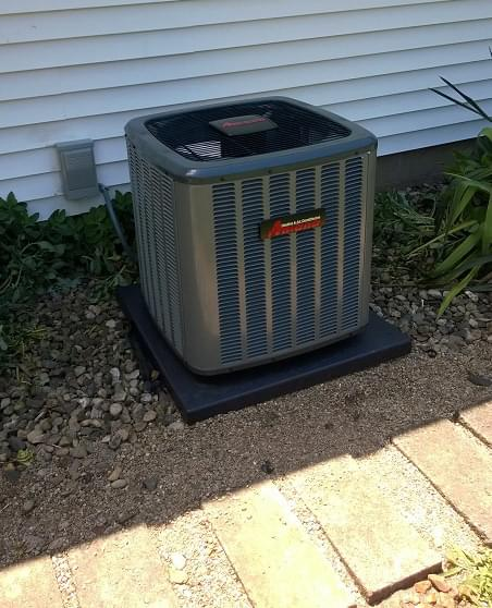 Amana Air conditioner replacement in Mansfield
